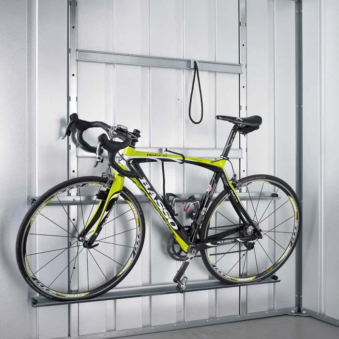 fahrradset für garagen und gerätehäuser