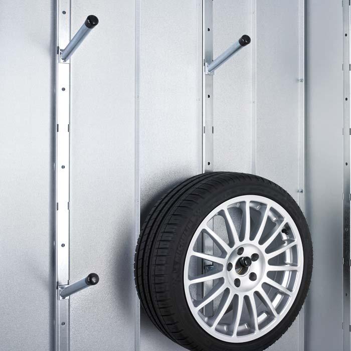 Reifenset für Garagen und Gerätehäuser